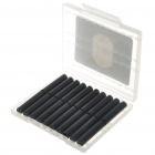 Черные картриджи для электронной сигареты Slim - 20 шт.