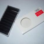 Черные картриджи для электронной сигареты Slim - 10 шт.